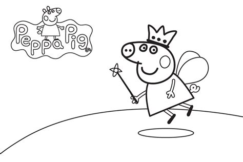 imagenes para pintar de peppa pig peppa pig para colorear best coloring pages for kids