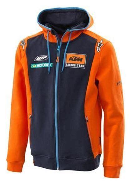 Hoodie Logo Ktm Racing fowlers shop ktm replica team zip hoodie 3pw