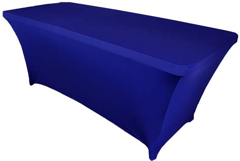 Royal Blue Table Covers by 6 Ft Rectangular Royal Blue Spandex Table Covers