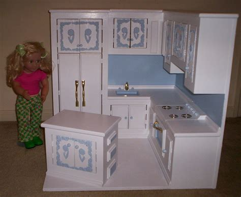 Non Toxic Kitchen Cabinets kitchen made for american girl size doll by cmcraftedtreasures