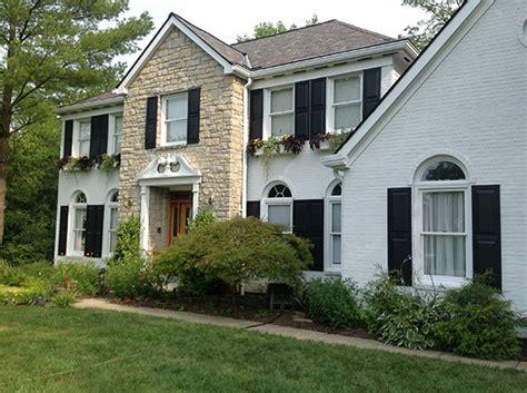exterior brick paint brick and trim exterior paint ellison painting