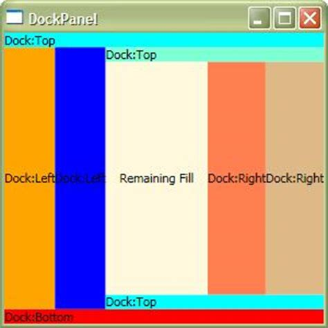 border layout xaml wpf tutorial layout panels containers layout