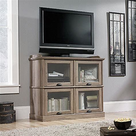 sauder salt oak sauder barrister lane salt oak entertainment center 414720