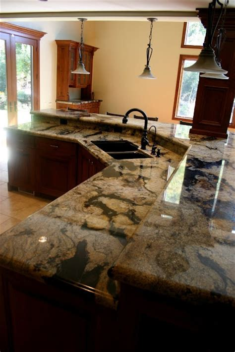 unique kitchen countertops   materials
