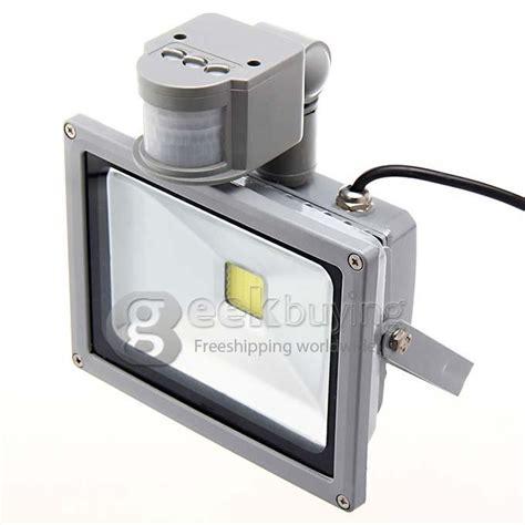 24 in led light temperature adjustable motion sensing bar light ip65 20w 1800lm ir infrared motion sensor led flood light