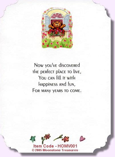 home verse homv  home card message card sayings