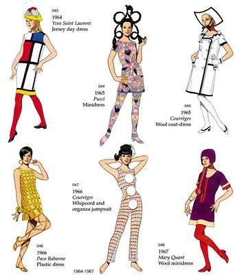 swinging sixties fashion la tigresse blonde swinging sixties gcse textiles