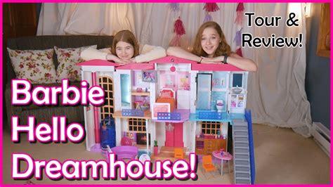 barbie house tour barbie house hello dream house tour smart barbie doll dream house youtube