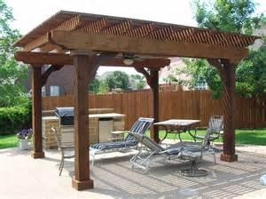 Patio Arbor Designs Free Standing Patio Roof Designs Free Standing Cedar Arbor With Ceiling Fan Keller