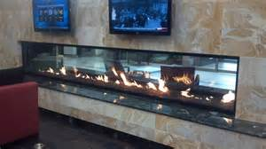 see through fireplaces gas custom see through gas fireplace cool fireplaces
