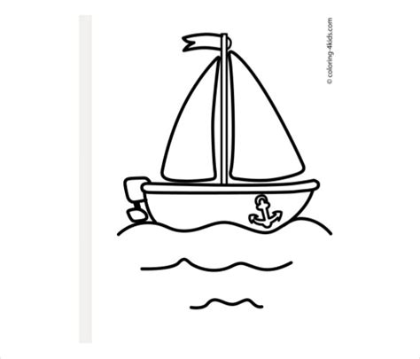 boat template simple drawings template 16 free pdf documents