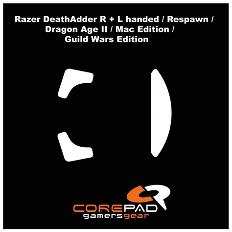 Hoodie Zipper Razer 1 corepad skatez replacement mouse for razer deathadder