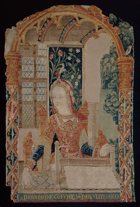 tapestry penelope   loom  fragment