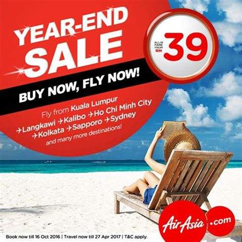 airasia year end sale airasia year end sale from rm39 airasia promotions