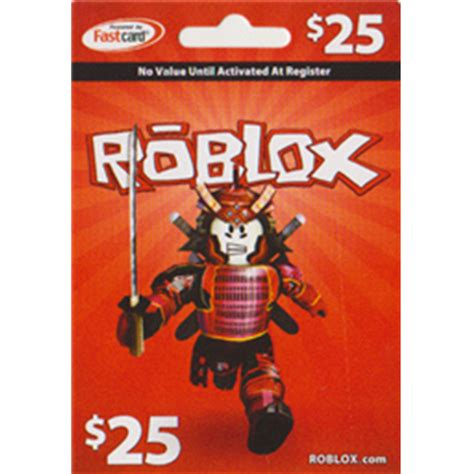 25 roblox gift card roblox - Where To Buy Robux Gift Cards