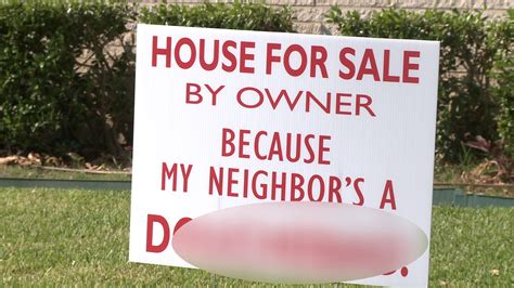 houses for sale farmers branch vulgar house for sale sign slams farmers branch neighbor aol news