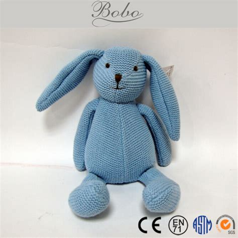 embroider on knitted toys grey knitted stuffed rabbit bunny buy knitted