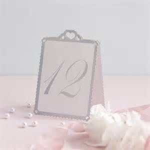 wedding table number cards wedding table number tent cards by
