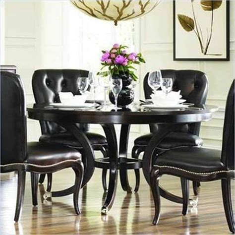 black dining room furniture sets best 25 round dining table sets ideas on pinterest