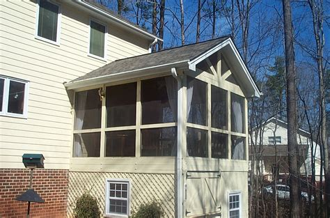 screened porch raleigh home improvement contractor raleigh