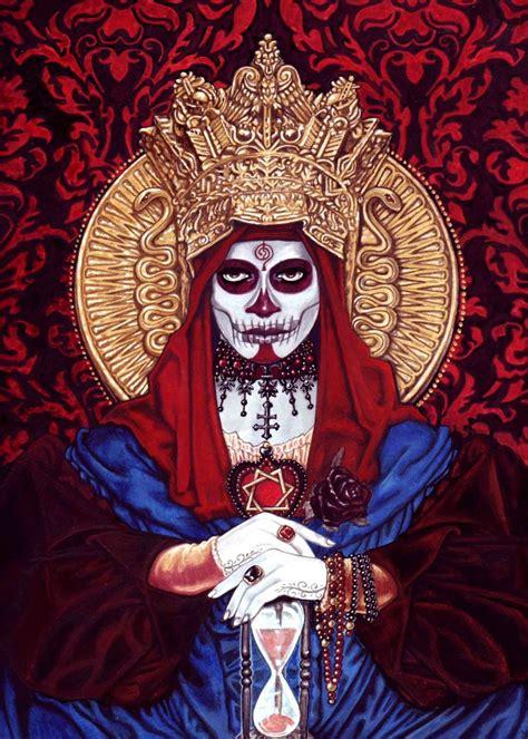 santa muerte images santa muerte airbrush matt tattoos santa