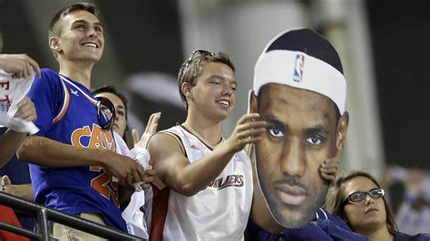 lebron james fan lebron james will return to the cleveland cavaliers kera