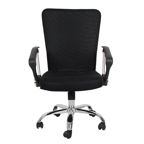 100 Desk Chairs Cloth Swivel Foxhunter Computer Executive Office Desk Chair Mesh Fabric Swivel High Back Oc11 Ebay