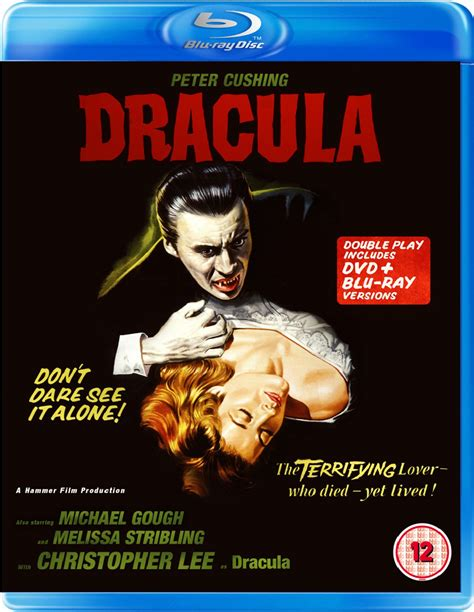 film of blu dracula aka horror of dracula blu ray review