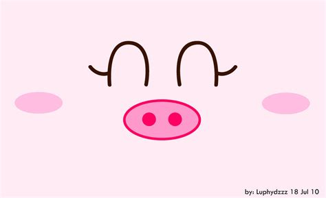 wallpaper cartoon pig cute piggy wallpaper wallpapersafari