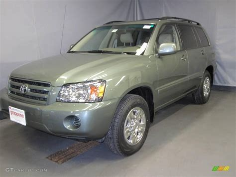 Greens Toyota 2006 Toyota Highlander Green 200 Interior And Exterior