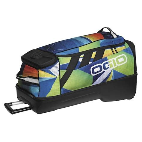 gear bags motocross ogio adrenaline wheeled gear bag revzilla