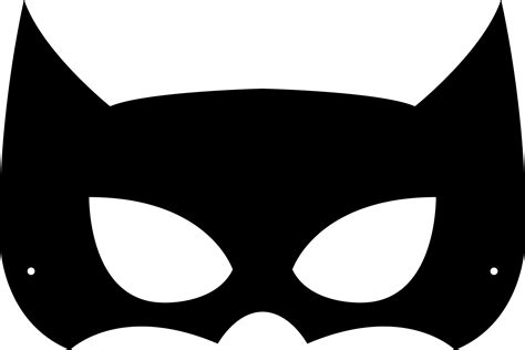 batman mask template mask cut out printable printable 360 degree