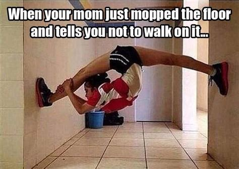 I Mopped The Floor by Housework Quotes Housework Sayings Housework Picture