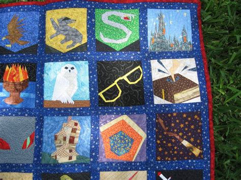 Harry Potter Quilt by You To See Magical Lens A Harry Potter Quilt By Sewhookedjen