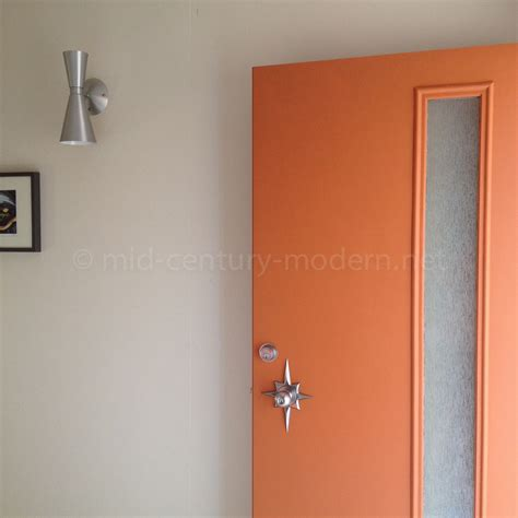 therma tru pulse modern door mid century modern