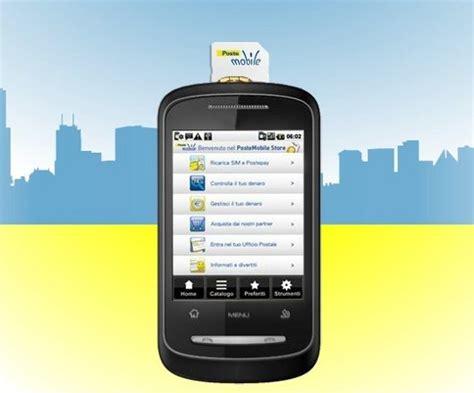 servizio clienti poste mobili come registrare una sim postemobile settimocell