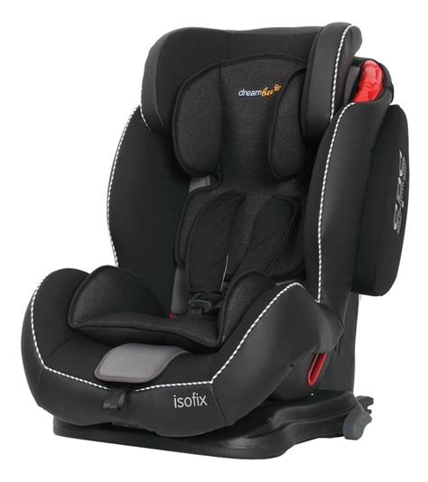 dreambee si 232 ge auto essentials isofix groupe 1 2 3 noir