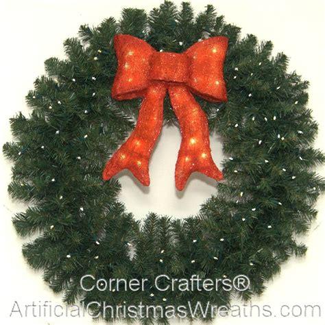 led wreath 36 inch l e d lighted wreath cornercrafters