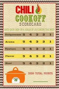 chili cook certificate template a pocket of lds prints chili cook scorecard