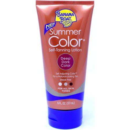 banana boat summer color review banana boat summer color self tanning lotion