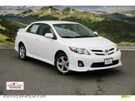 2011 Toyota Corolla S For Sale 2011 Toyota Corolla S In White 563950 Autos Of