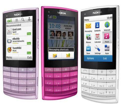 Hp Nokia C3 Layar Sentuh nokia x3 02 touch and type seputar dunia ponsel dan hp