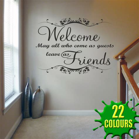 Quotes For Living Room Wall by Living Room Wall Quote