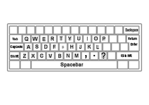 Clipart Keyboard the gallery for gt computer keyboard clipart