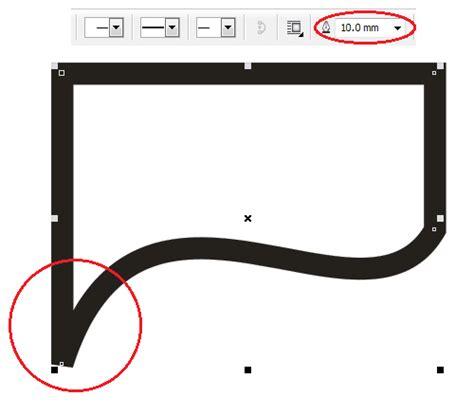 membuat gambar menjadi outline cara membuat sudut outline yang tumpul menjadi lancip
