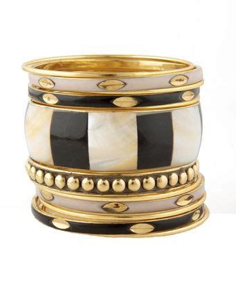 Set Perhiasan Black Gold funhouse gold and black bangle set bangle gold bangles and gold