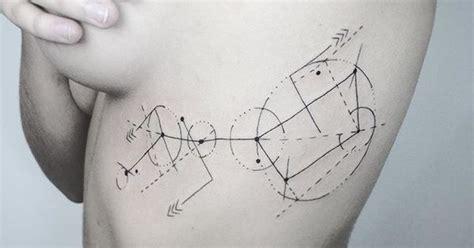 ursa major tattoo it s constellation ursa major geometric artlovers