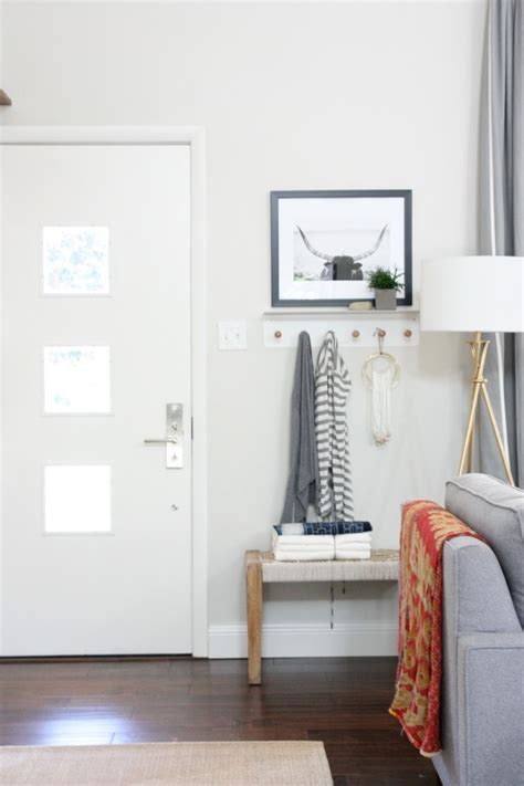 entryway hooks solutions for a small entry or a non existent entry the