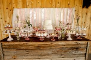 vintage pink shabby chic dessert table jenny cookies