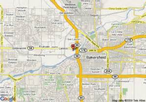 map of springhill suites bakersfield bakersfield